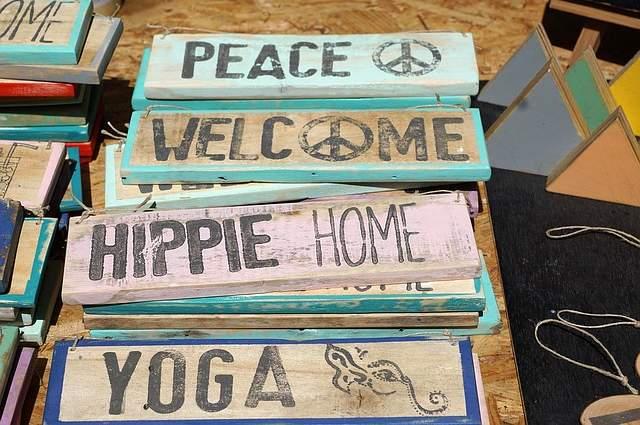 Mercato hippy
